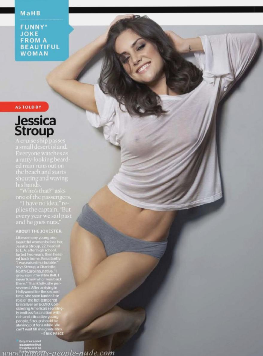 Jessica Stroup Reveals All